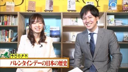 170212朝ダネ 紺野あさ美 (1)