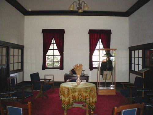 旧南会津郡役所・郡長室