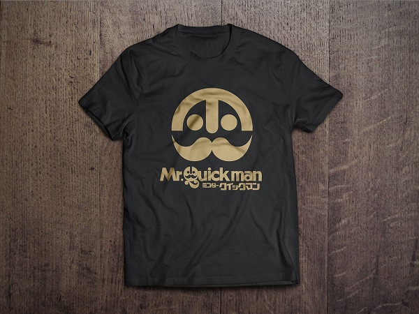 クイックマン T-Shirt MockUp_Front