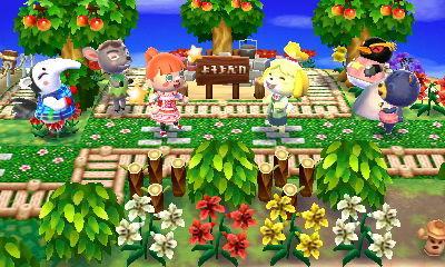 とび森 キャンプ場 作り方