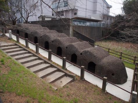 煉瓦焼成窯
