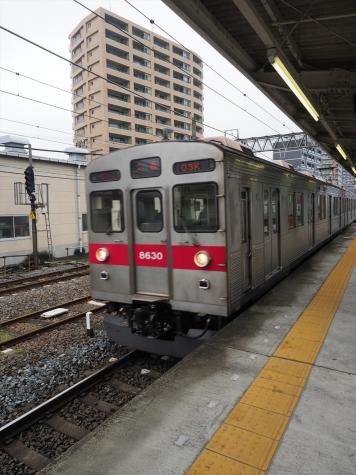 東急電鉄 田園都市線 8500系 電車【春日部駅】
