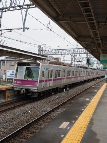 東京メトロ 半蔵線 8000系 電車【東武動物公園駅】