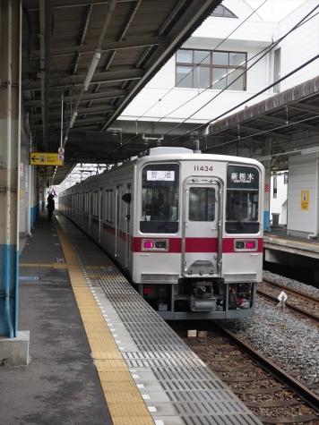 東武鉄道 日光線 10030系 電車【南栗橋駅】