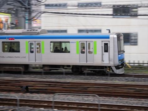 東武鉄道 野田線 60000系 電車【春日部駅】