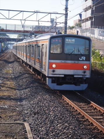 JR 武蔵野線 205系5000番台 電車【東川口駅】