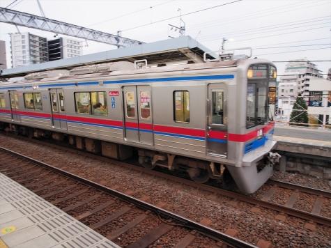 京成電鉄 3700形3800番台 電車【千住大橋駅】