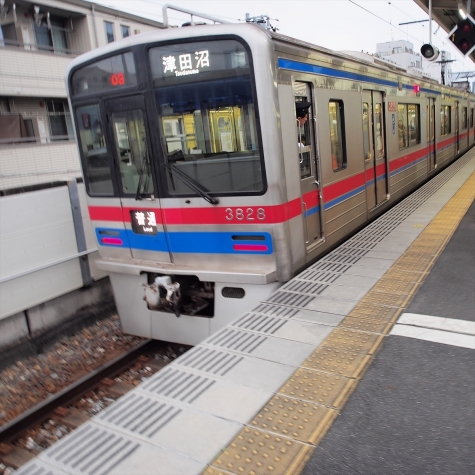 京成電鉄 3700形3800番台 電車