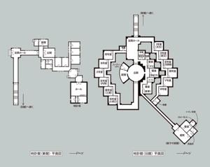 時計館平面図