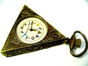 変な懐中時計