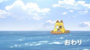 海上で電池切れ