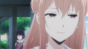 ビッチの微笑み