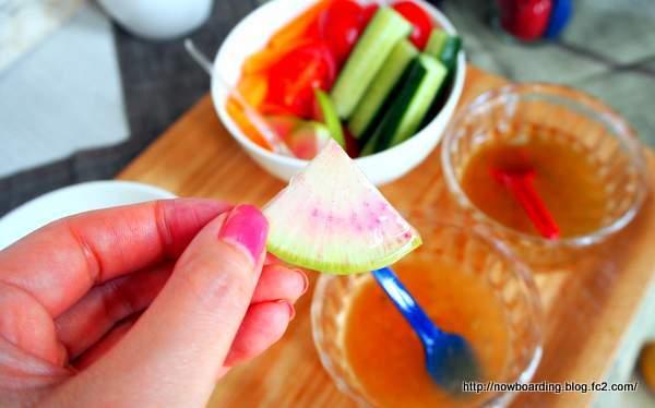 椿の金ぷら油 試食