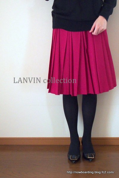 LANVIN collection パンプス