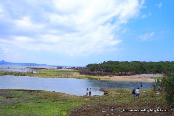 備瀬 海 沖縄