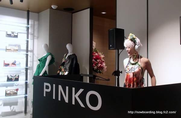 PINKO 青山オープニングパーティー