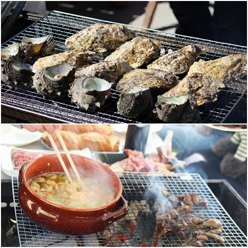 牡蠣&アヒージョ
