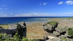 沖縄,壁紙,風景,具志川城跡,青い海