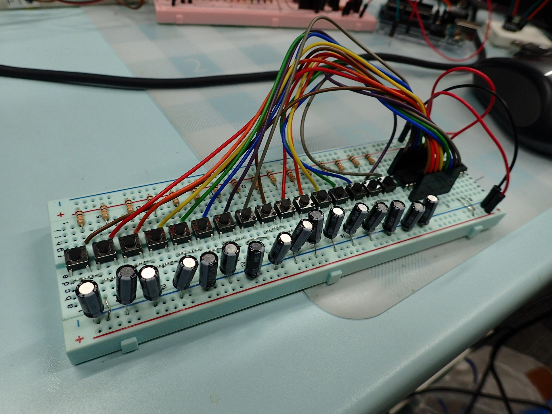 センサーボードの実験