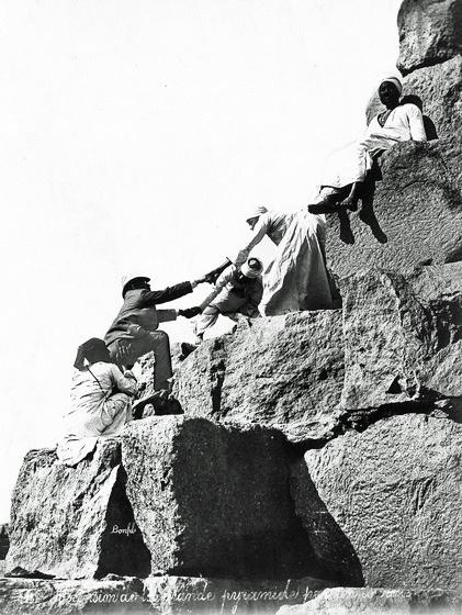 エジプト観光客