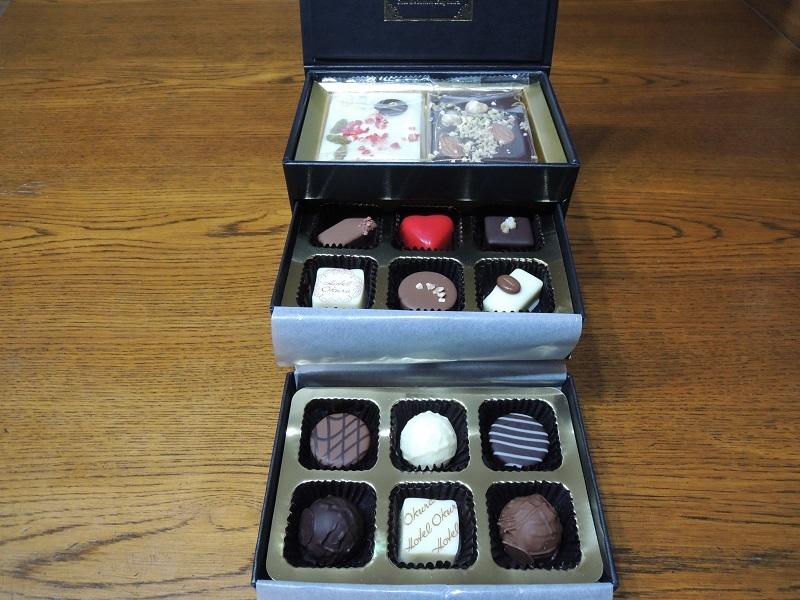 子どもたちからのチョコレート