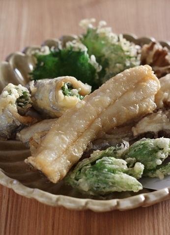 太刀魚の天ぷら2