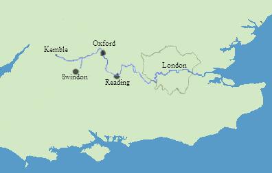 テムズ川流路