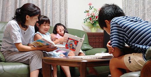 読書 家族 1