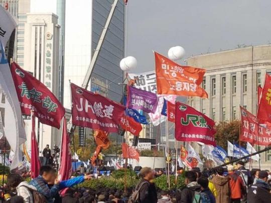 韓国 デモ 日本人 2