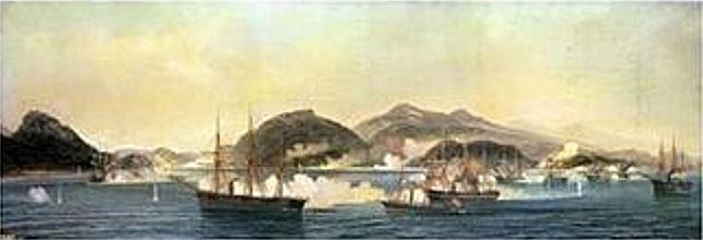 四国連合艦隊による下関砲撃