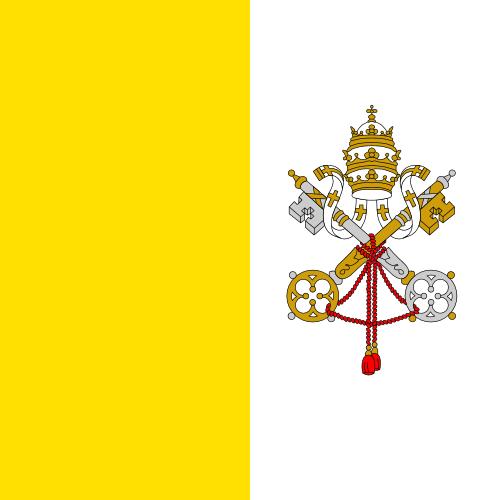 バチカン市国 国旗