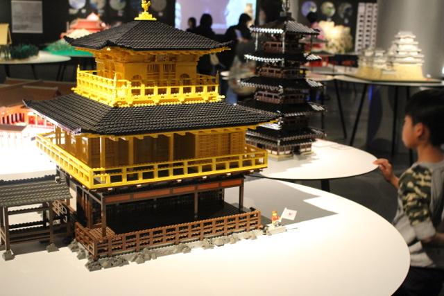 レゴの金閣寺
