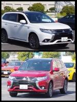 アウトランダーPHEV2017 S-edition お台場 モータースポーツジャパン会場