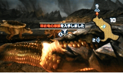 【モンハンダブルクロス】 溶岩竜の厚鱗 入手方法【MHXX 攻略】