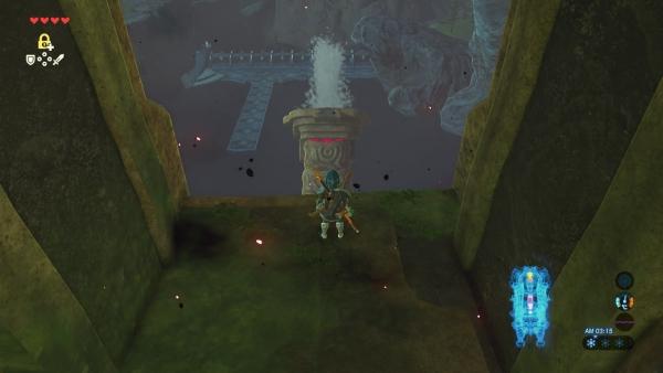 【ゼルダの伝説 ブレスオブザワイルド】『水の神獣ヴァ・ルッタ』内部ダンジョン 進み方 カラクリの攻略