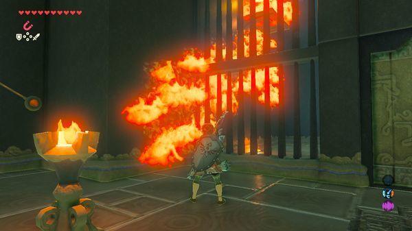 【ゼルダの伝説 ブレスオブザワイルド】 炎を伝えて 『タ・ムールの祠』 進み方 【BotW 攻略】