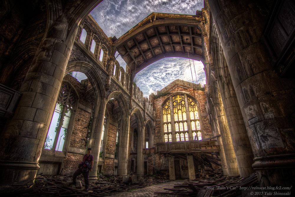 廃墟_ゲーリー・メソジスト教会(Gary Methodist Church)