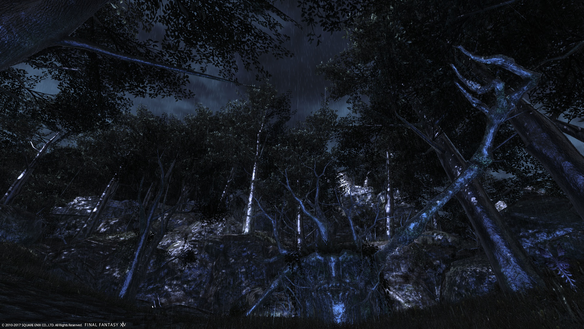 雷光とトレントの亡骸