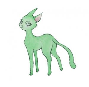 20180905緑の猫