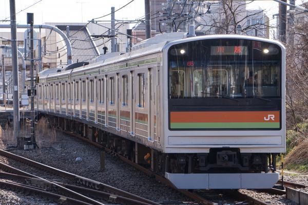 2017-03-11 八高線205系ハエ81編成 川越行き
