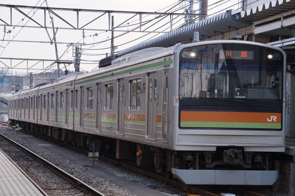 2017-03-29 八高線205系ハエ82編成 川越行き2