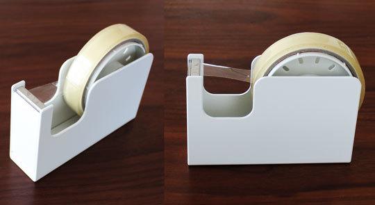 無印良品テープカッター白い