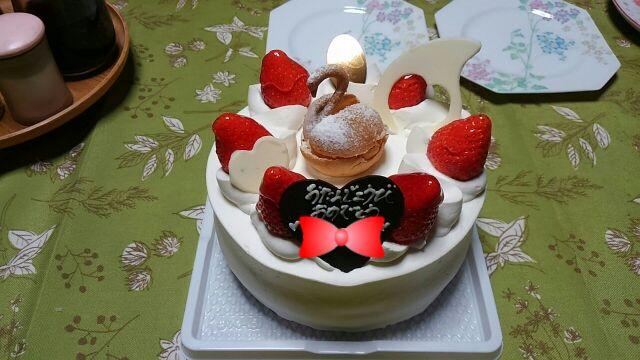 誕生日ケーキ2017