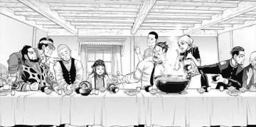 ゴールデンカムイ9巻 ユダ 最後の晩餐