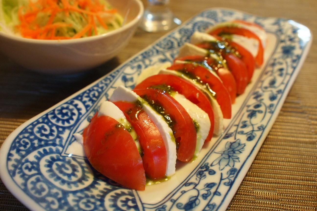 トマトとチーズ