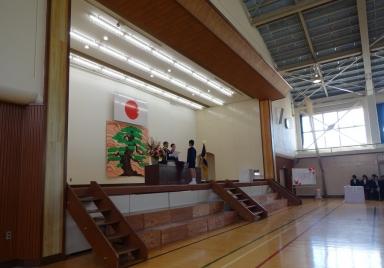 田上小卒業証書授与式