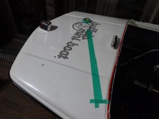 ミニボート改造 (5)