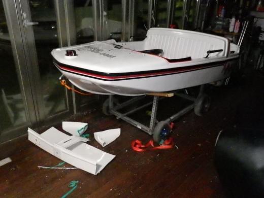 ミニボート改造 (27)