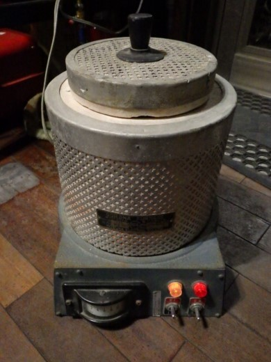 カンタル炉CORONA FURNACE M・K-7型