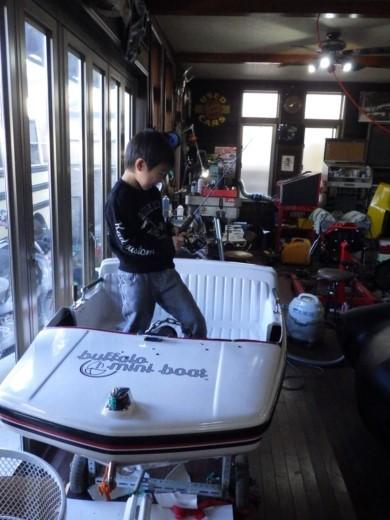 ボート改造 (5)